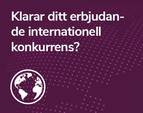Internationell konkurrens